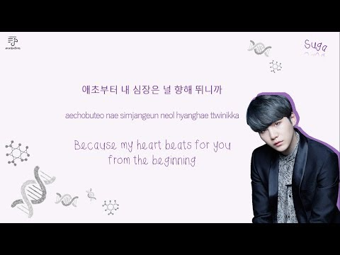 BTS 방탄소년단 - DNA Color-Coded-Lyrics Han l Rom l Eng 가사 by xoxobuttons