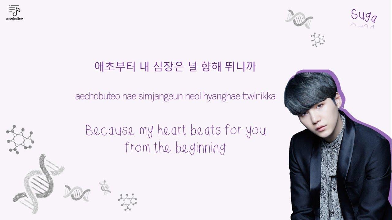Bts 방탄소년단 Dna Color Coded Lyrics Han L Rom L Eng 가사 By