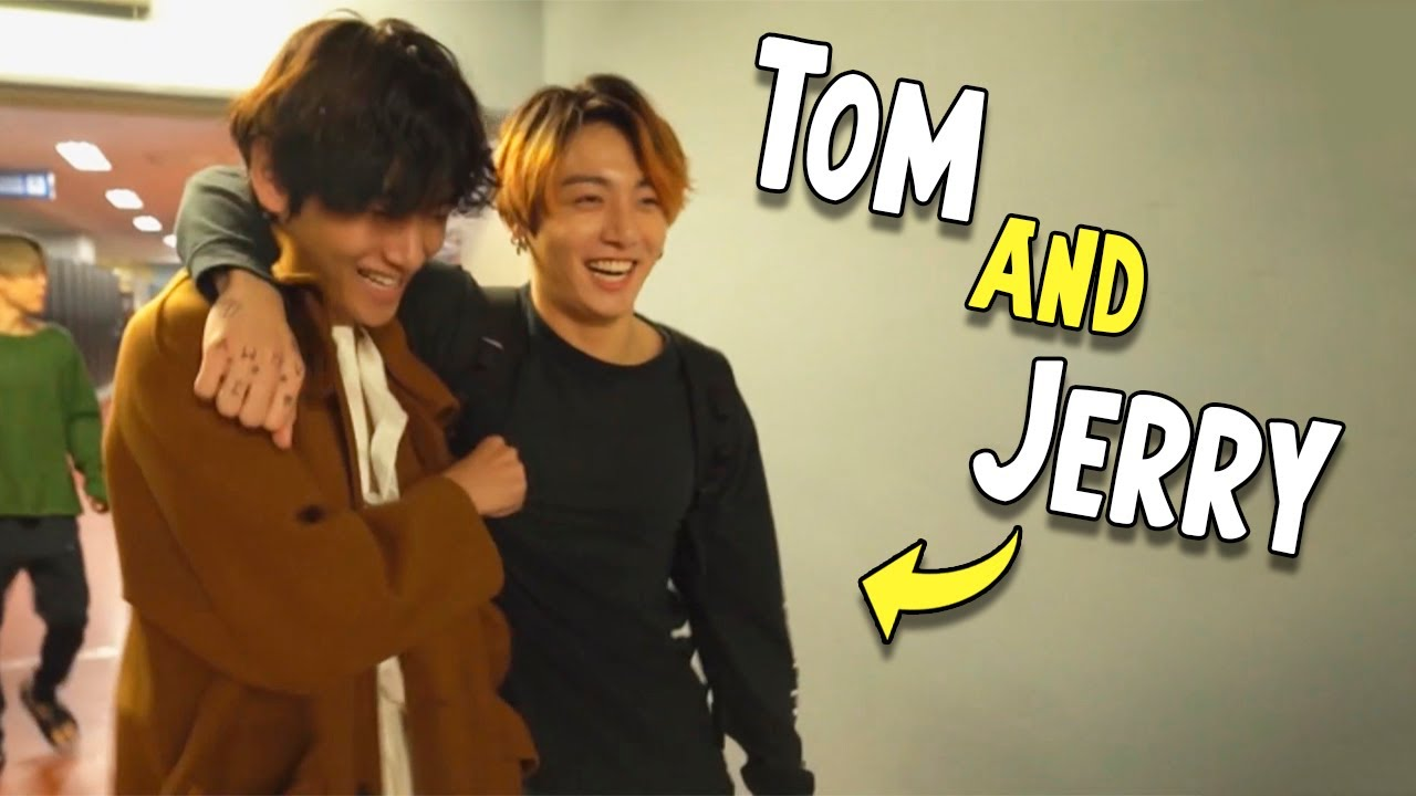 BTS Taehyung & Jungkook, Tom and Jerry Ver