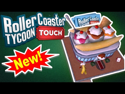 NEW BUILDINGS, PACKS, UPGRADING CARDS | RollerCoaster Tycoon