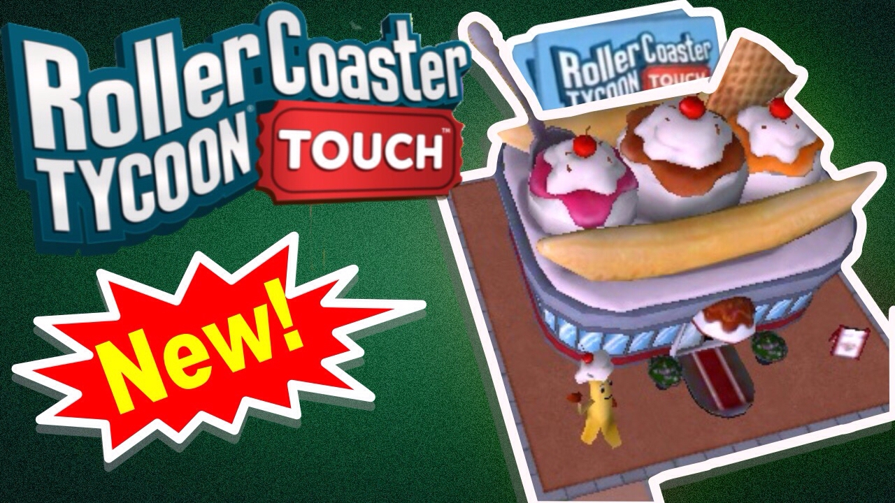 NEW BUILDINGS, PACKS, UPGRADING CARDS | RollerCoaster Tycoon Touch
