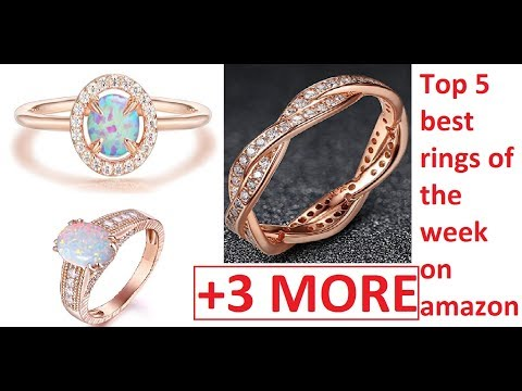 top-5-best-rings-of-the-week-on-amazon-  -engagement-+-weeding-rings