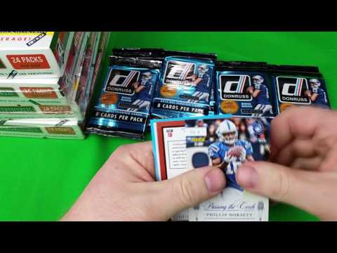 2015 Donruss Perferred Football Group Break #1 4/19/17