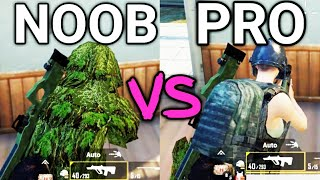 How To Become A Pro Player  N PUBG Mobile  Noob Vs Pro  PUBG Mobile Tips And Tricks