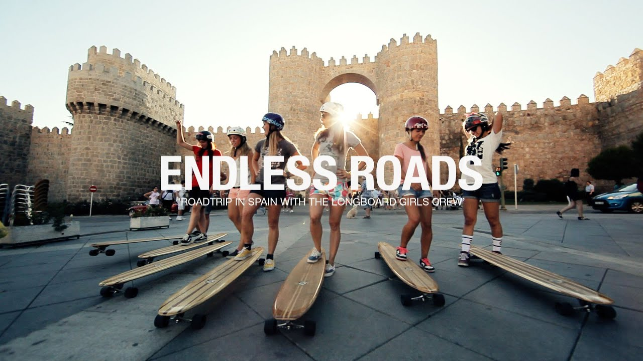 Las Longboard Girls Crew IN SPAIN