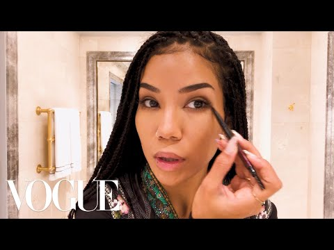 Jhené Aikos Ultimate Guide to Color Correcting  Beauty Secrets  Vogue