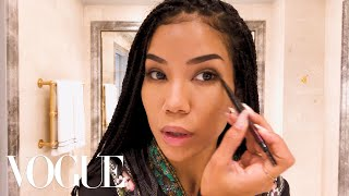 Singer-songwriter Jhené Aiko's daytime makeup look is as sultry as ...