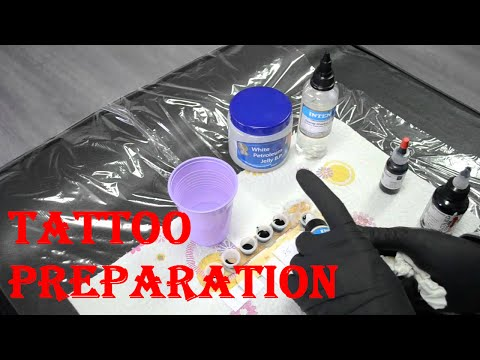 Tattoo Preparation ( Everything You Need To Know Before Tattooing )