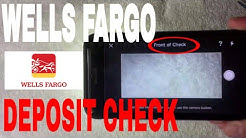 ✅  How To Deposit Check With Wells Fargo Mobile App ?