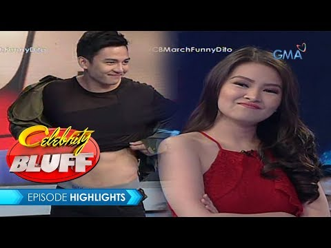 Celebrity Bluff: Kissy and Jak Robertos kilig moments