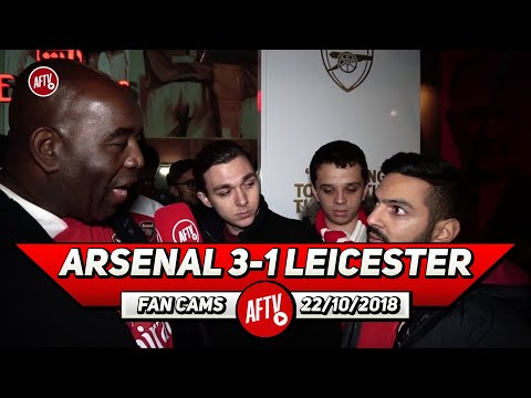 Arsenal 3-1 Leicester City | Is Ozil A World Class Player? (Robbie Asks The Fans)