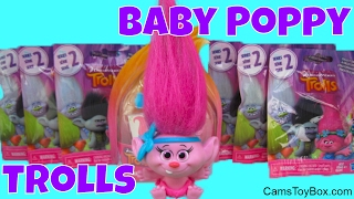 Trolls Baby Poppy Toy Dreamworks Series 2 Blind Bags Opening Surprise Toys for Kids Fun Playing