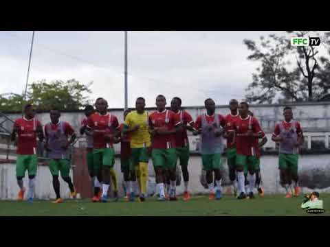 Entrainement des Coelacanthes au Stade de Moroni Avant le départ jeudi pour Namibie