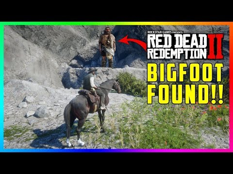 Bigfoot Has Been FOUND In Red Dead Redemption 2 - The Lonely Giant Finally REVEALED! (RDR2 Secrets)