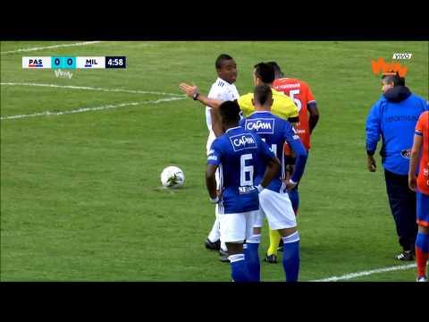 Pasto vs. Millonarios (1-1) | Liga Aguila 2019-I | Cuadrangulares Fecha 3