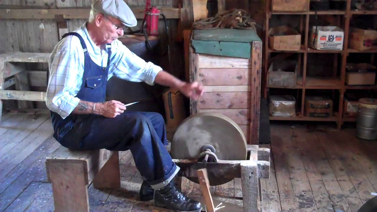 Pedal Grinding Wheel