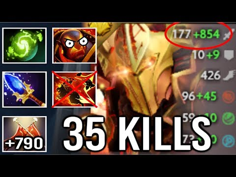 Non-Stop Duel Pro LC Refresher Orb Counter Ember Mid Crazy Gameplay WTF Dota 2