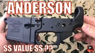 Best Seller ? Anderson AR-15 Lower Receiver 5.56 Milspec