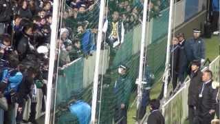 2012.12.1 ヤマハスタジアム 試合終了後.