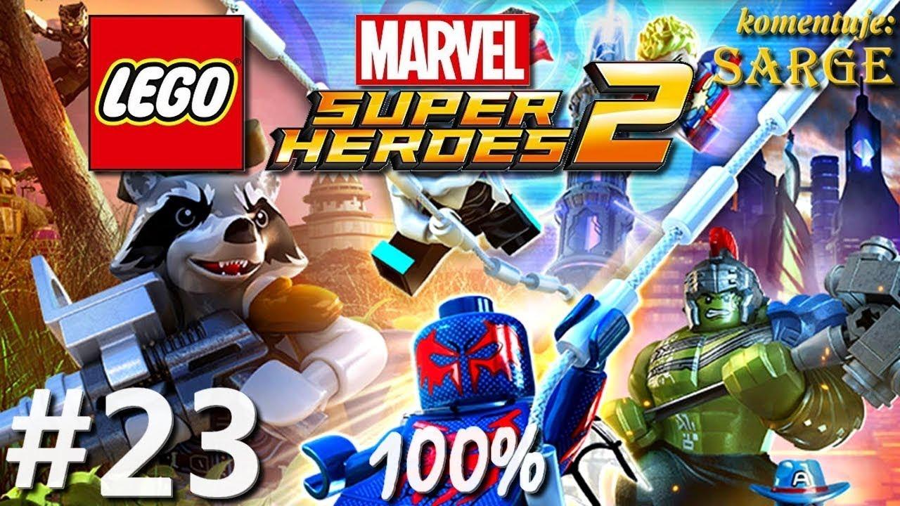Zagrajmy w LEGO Marvel Super Heroes 2 (100%) odc. 23 – Sakaar [2/3]