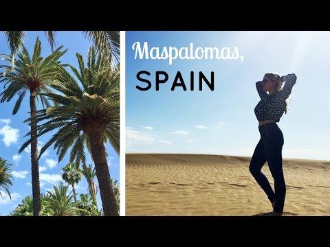 TRAVEL DIARY: MASPALOMAS, SPAIN