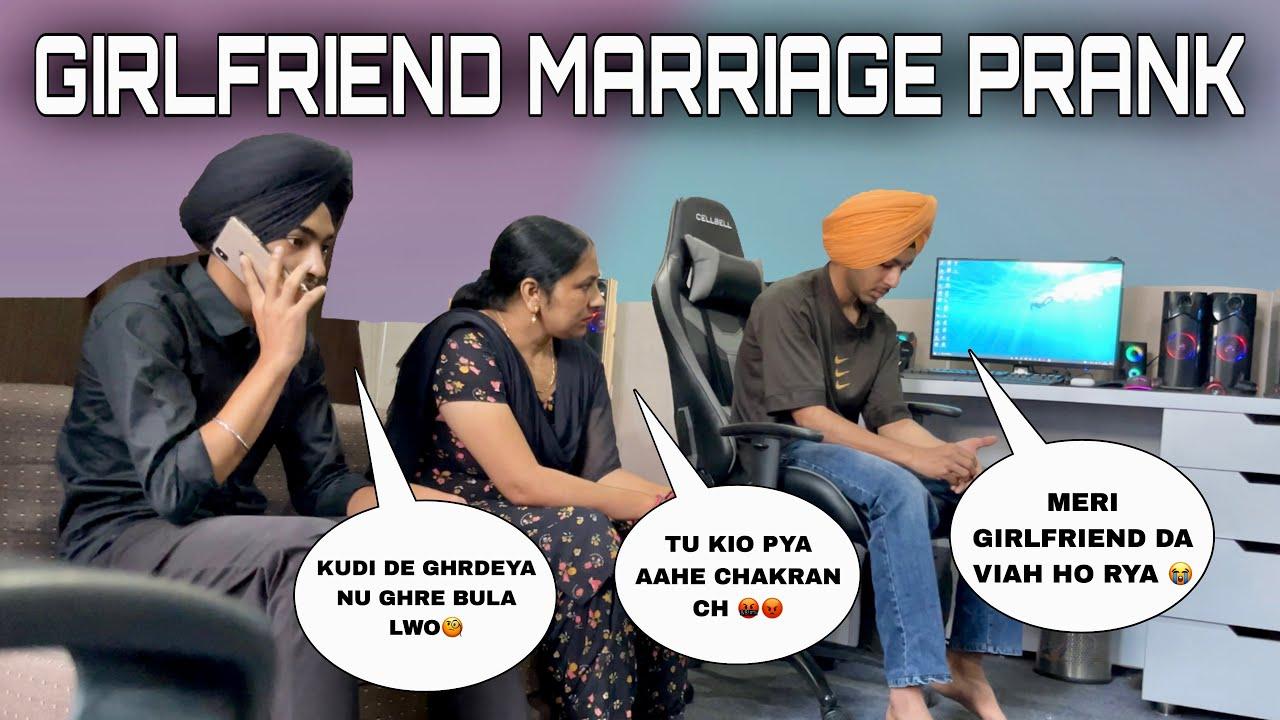 GIRLFRIEND DI MARRIAGE HON LAGI PRANK ON FAMILY 🥺 - BEINGSARDAR