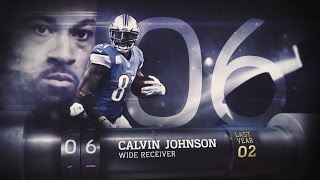 #6 Calvin Johnson (WR, Lions) | Top 100 Players of 2015