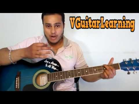 HUMSAFAR Guitar Lesson | Badrinath Ki Dulhania | Easy Tutorials | VGuitarLearning