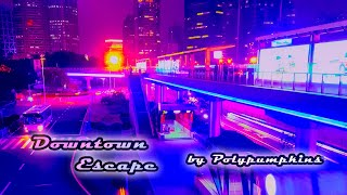 Polypumpkins - Downtown Escape || Synthwave Retrowave 📻