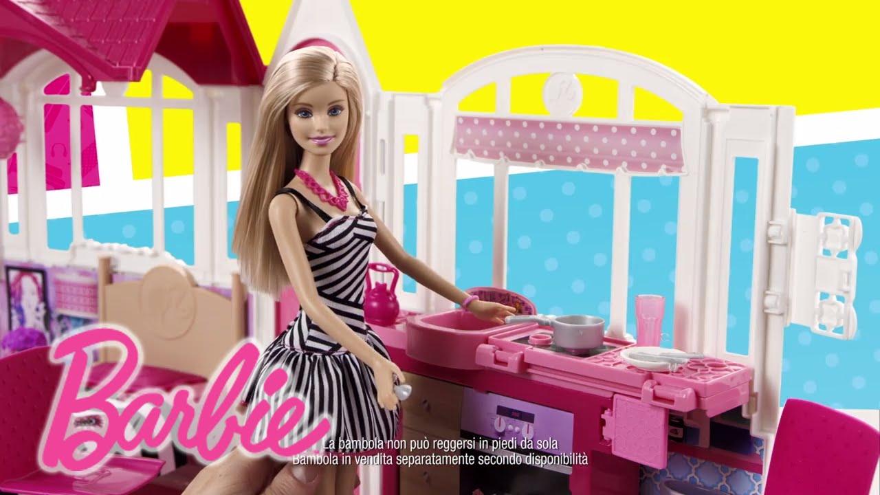 CASA VACANZE GLAM + MAGGIOLONE | Barbie - YouTube