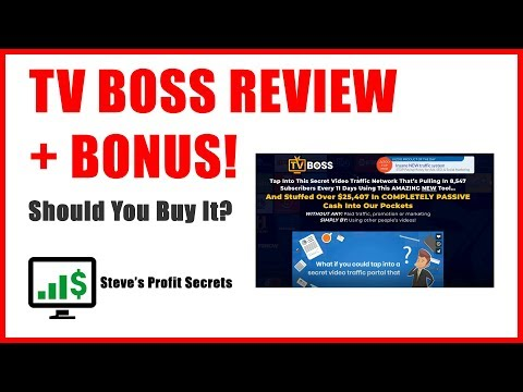 TV Boss Review - Build Your Own Roku TV Channel. http://bit.ly/2PlLNR0