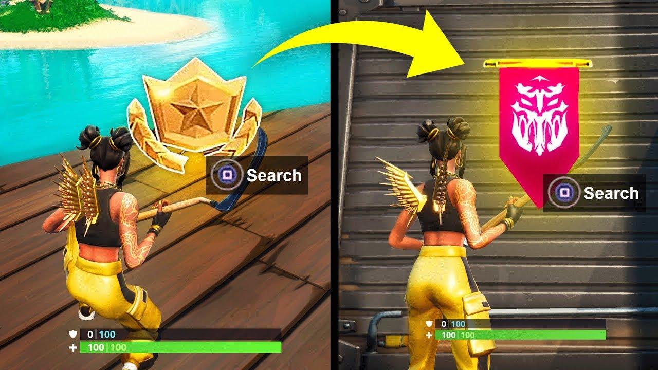 Week 8 Secret Banner Season 8 Location Guide Fortnite Find The