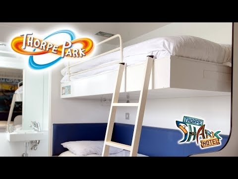 Thorpe Park's Shark Hotel Room Tour & Review 2019