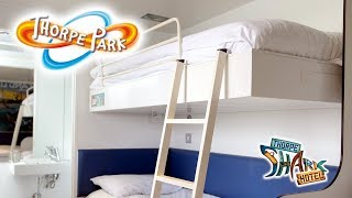 Thorpe Park s Shark Hotel Room Tour Review 2019