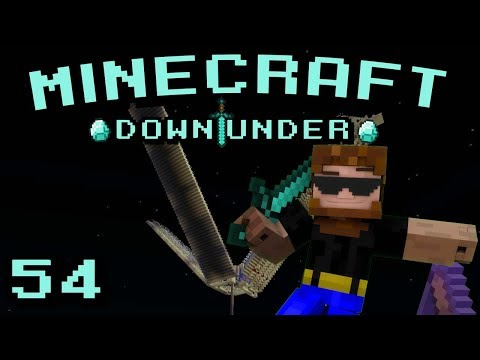 Minecraft Down Under S2 - Episode 54 - Data Rage and Fish Farms… What a Day.