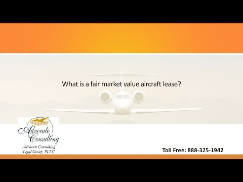 What is a fair market value aircraft lease?