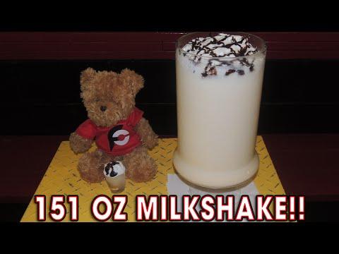 151oz MILKSHAKE CHALLENGE!! (5,587 Calories)