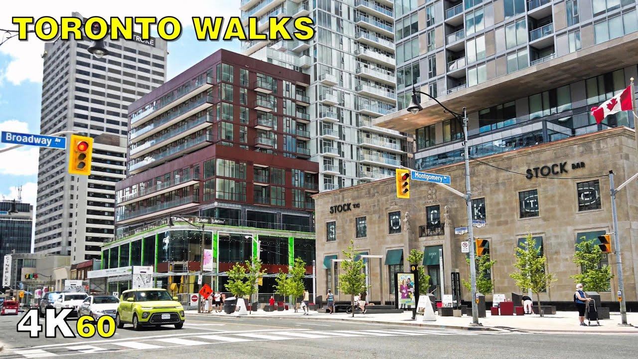 Toronto Walk - Stage 2 in Midtown Around Yonge & Eglinton on June 28 [4K]