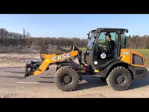 Used heavy machinery Case 21F - Bucket & Forks Radlader