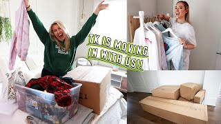 getting another roommate! *TK'S MOVING IN WITH ME!!