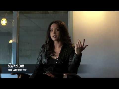 Melissa O'Neil Dark Matter Set Visit Interview