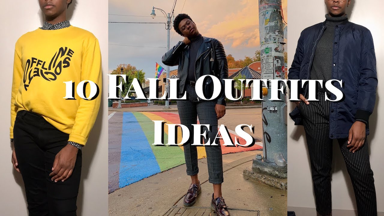 [VIDEO] - 10 Men's Fall Outfit Ideas | Dressy, Casual, Trendy 1