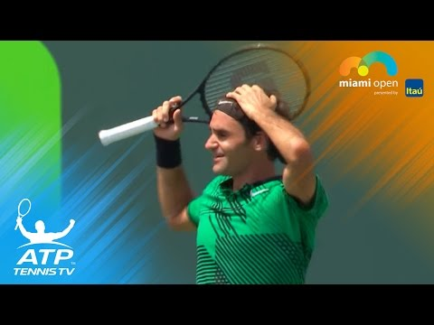 Roger Federer beats Rafa Nadal again to win Sunshine Double | Miami Open 2017 Final Highlights