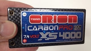 """Team Orion """"Shorty"""" Lipo Battery - Carbon Pro Series"""
