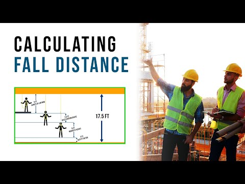 How To Calculate Fall Distance | Fall Protection, Safety, Hazards, Training, Oregon OSHA