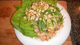 Mango Salad With Shrimp