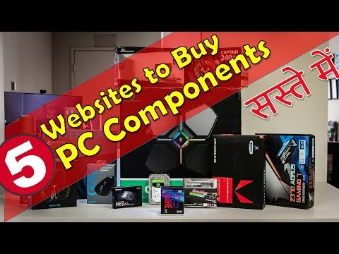 Top 5 Best Websites To Buy PC Components Parts Gaming Components Computer Peripherals In India