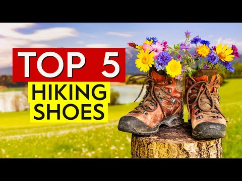✅ TOP 5: Best Hiking Shoes 2020
