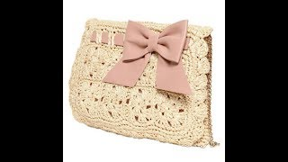 Подборка вязаных сумок крючком со схемами|Вязаные сумки|Вязание крючком