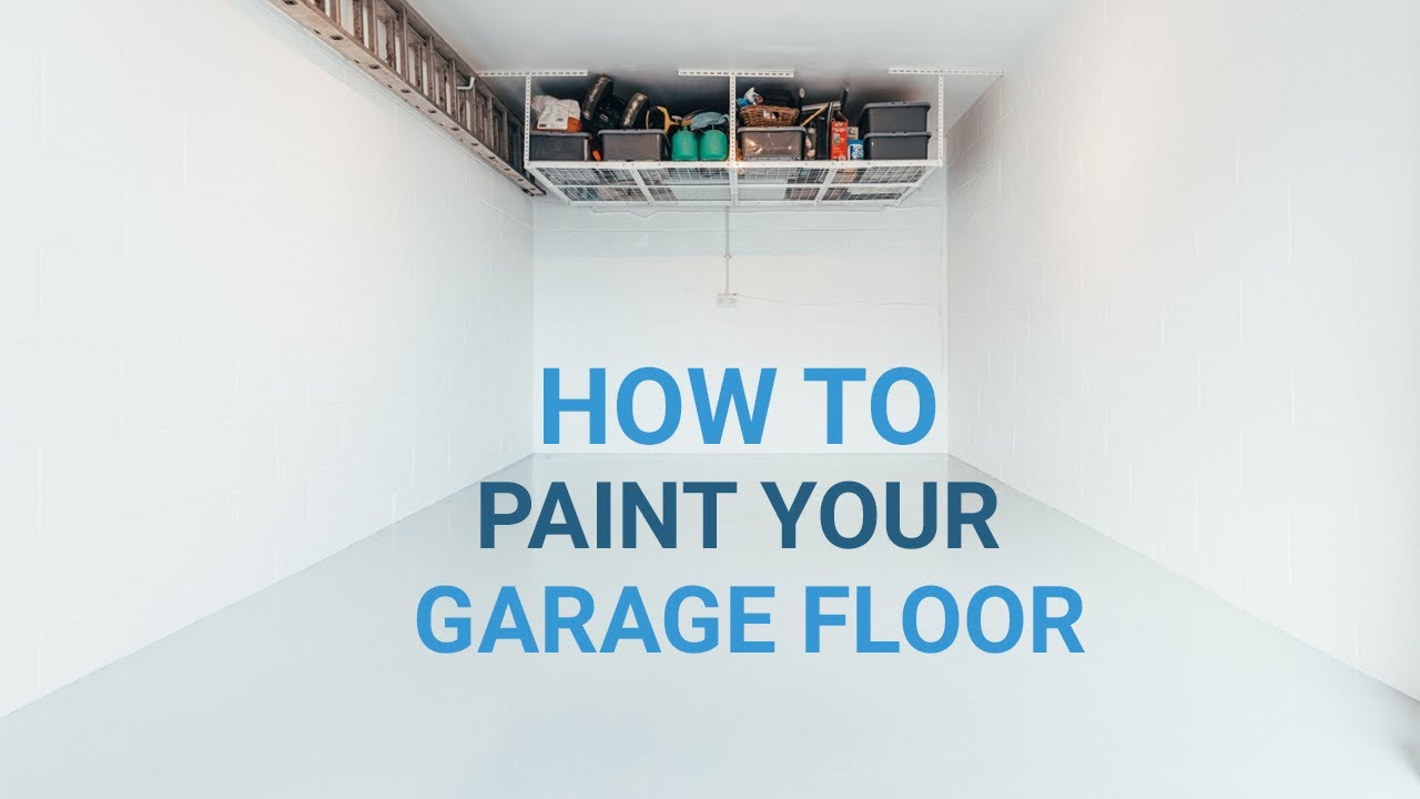 How To Paint Your Garage Floor Floor Paint Product Guide Resincoat Youtube